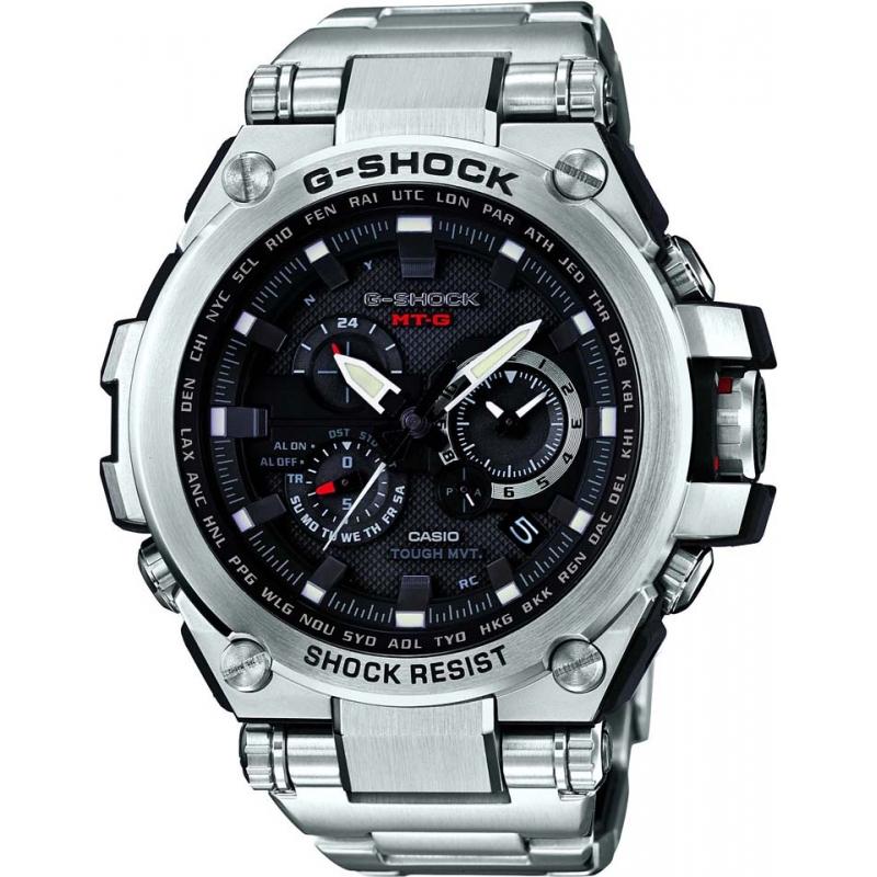e76fa4440b9 Casio MTG-S1000D-1AER Pánská g-shock prémie rádiem řízené hodinky na solární