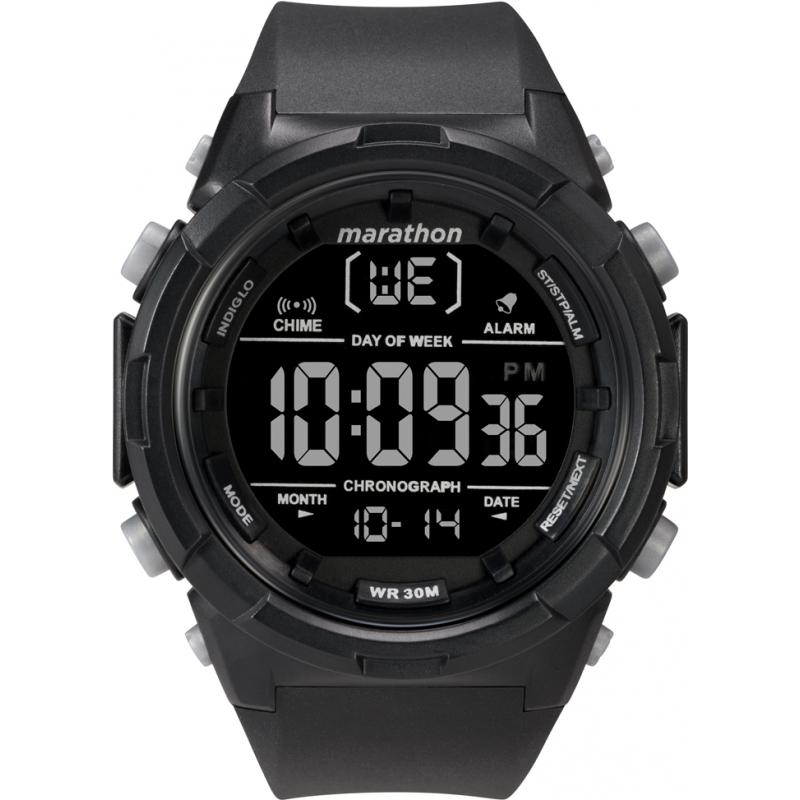 64bcebc57500 Timex TW5M22300 Reloj de maratón para hombres